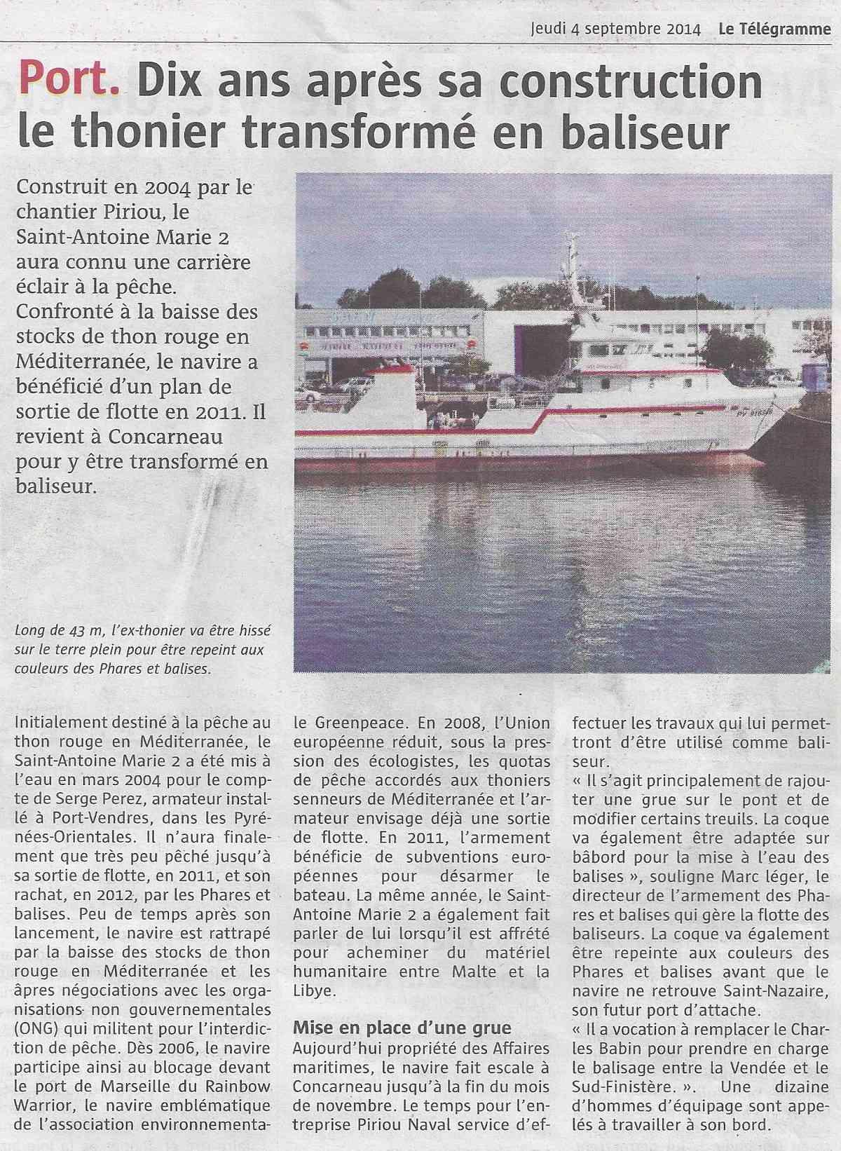 [Vie des ports] LE PORT DE CONCARNEAU - Volume 006 1136
