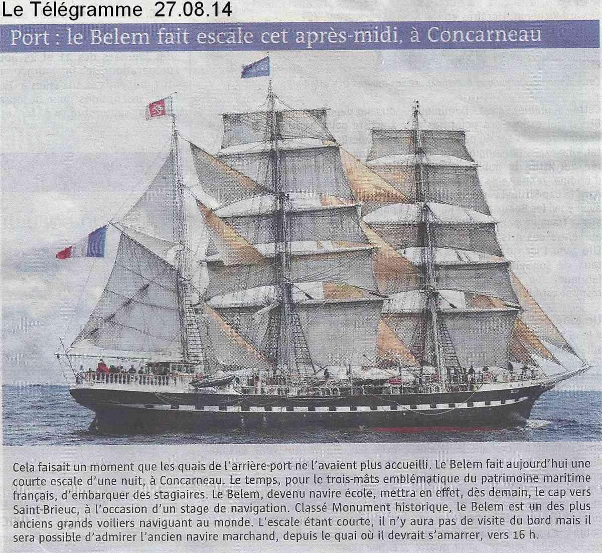 [Vie des ports] LE PORT DE CONCARNEAU - Volume 006 1143