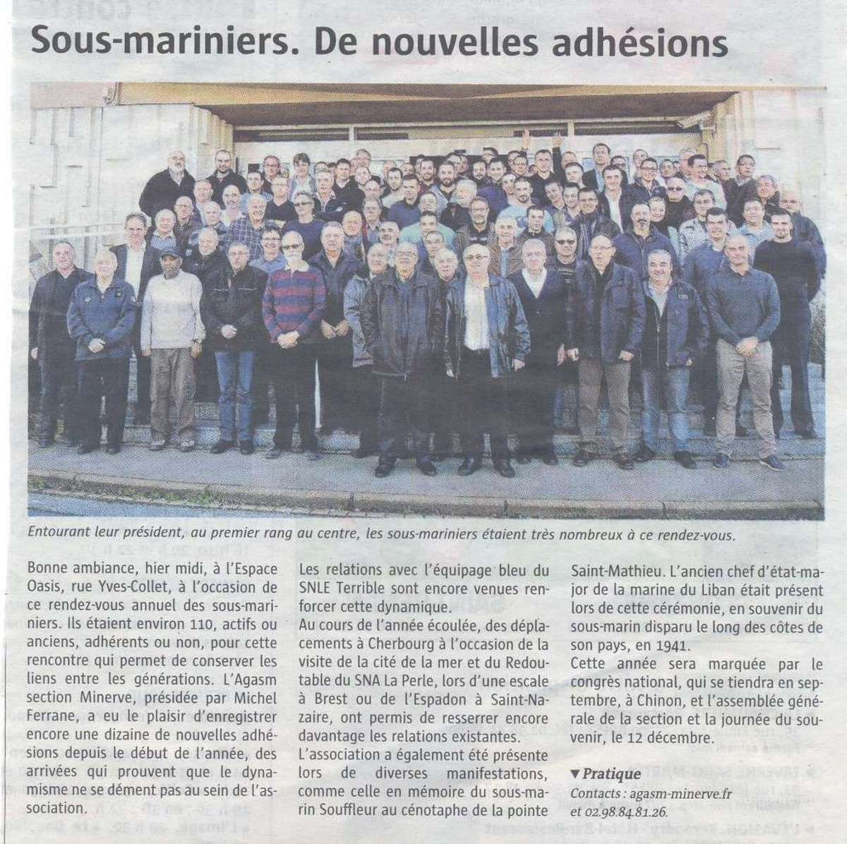 [ Associations anciens Marins ] A.G.A.S.M 11540