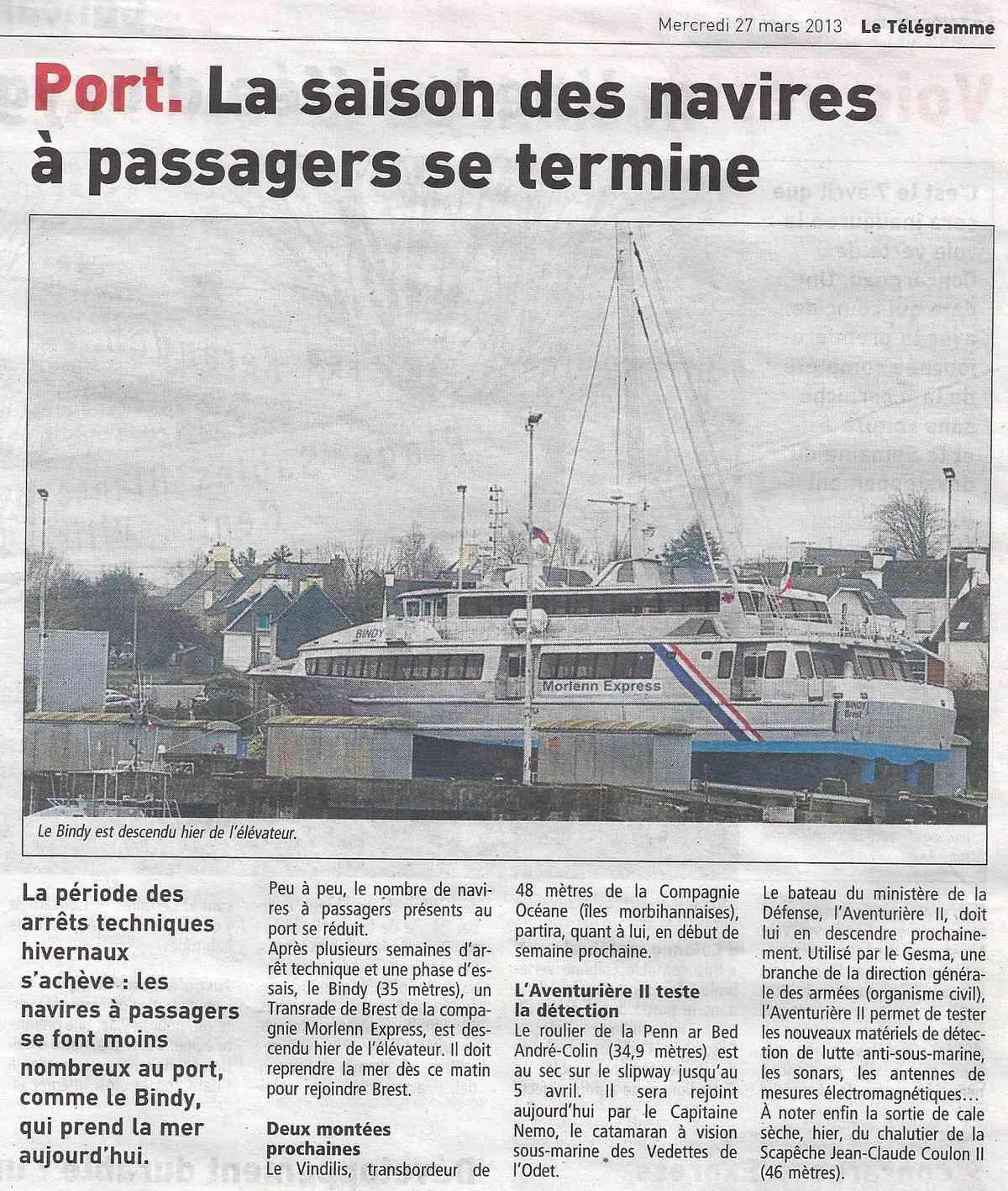 [Vie des ports] LE PORT DE CONCARNEAU - Volume 005 - Page 16 1281