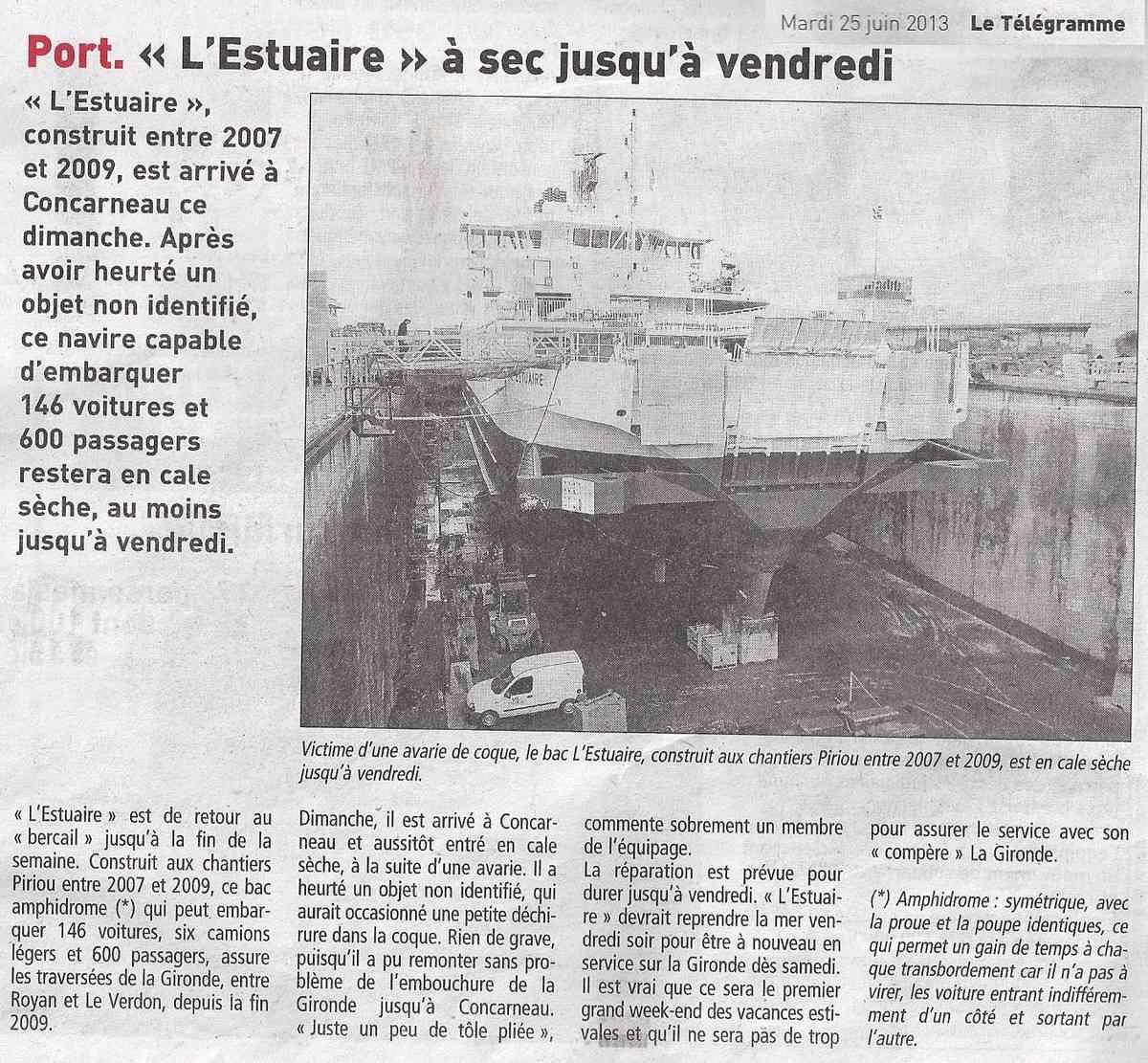 [Vie des ports] LE PORT DE CONCARNEAU - Volume 005 - Page 21 1327