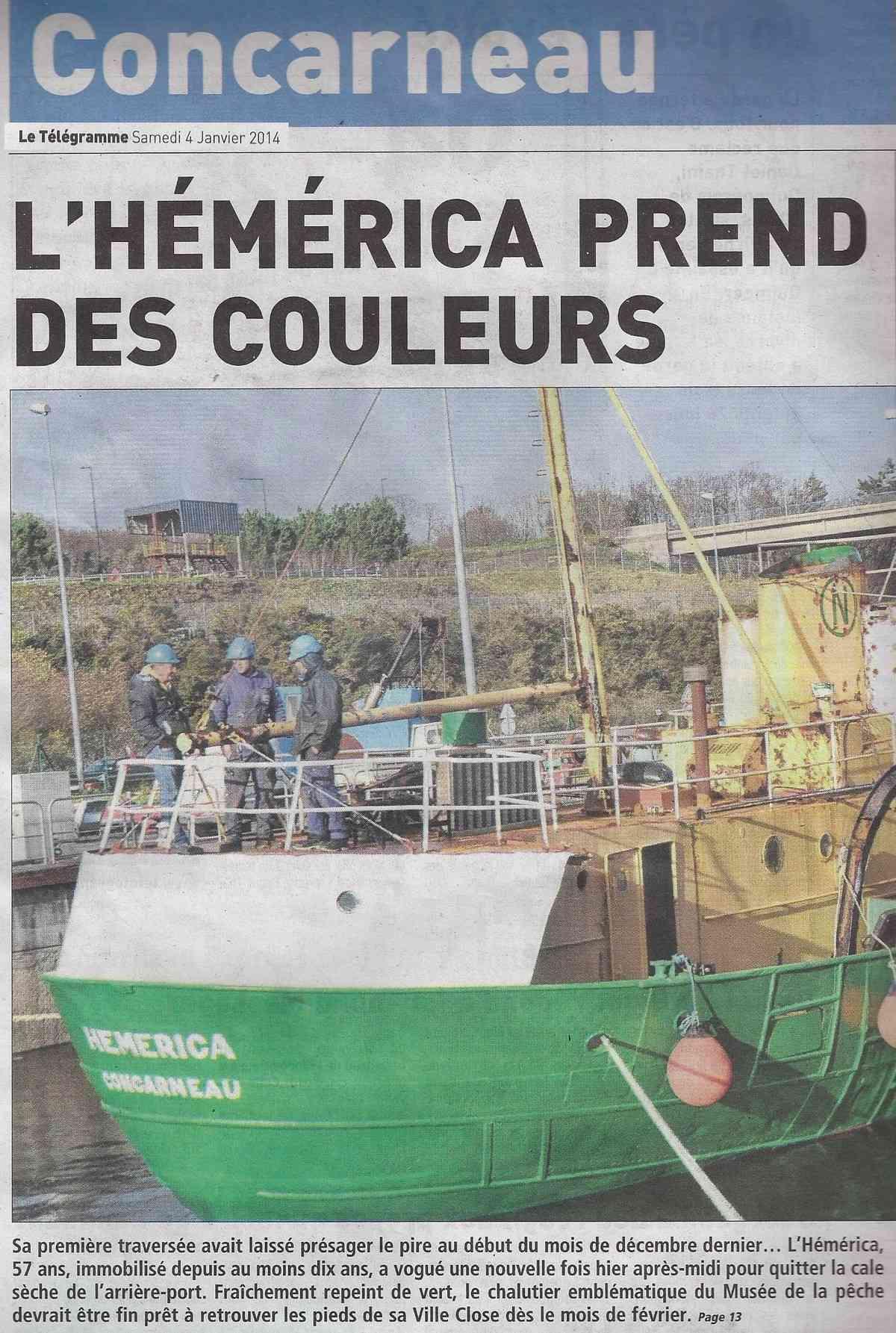 [Vie des ports] LE PORT DE CONCARNEAU - Volume 005 - Page 29 1398
