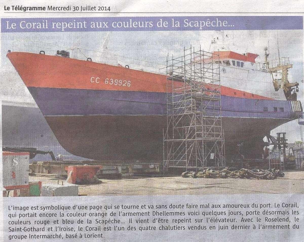 [Vie des ports] LE PORT DE CONCARNEAU - Volume 005 - Page 40 1491
