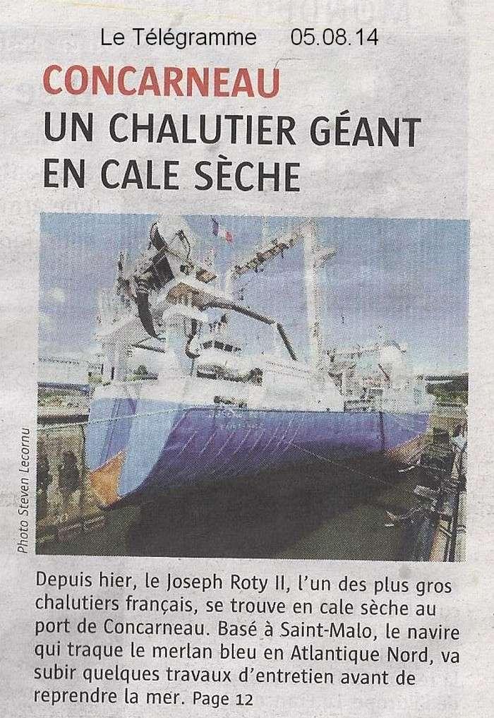 [Vie des ports] LE PORT DE CONCARNEAU - Volume 005 - Page 40 1495
