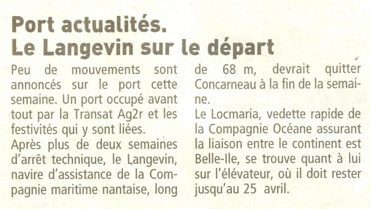 LE PORT DE CONCARNEAU - Volume 003 - Page 2 1909