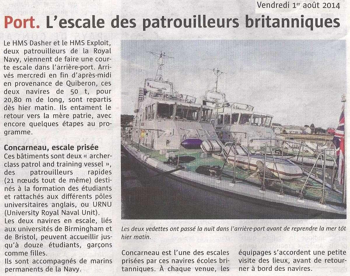 [Vie des ports] LE PORT DE CONCARNEAU - Volume 005 - Page 40 2338