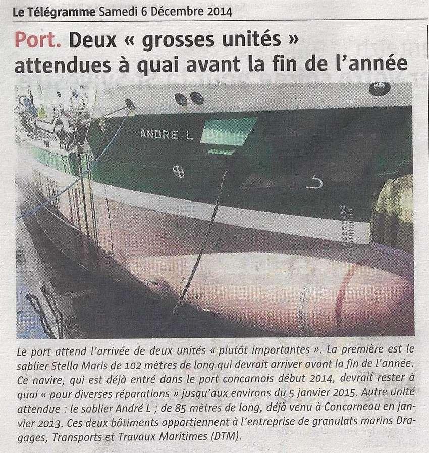 [Vie des ports] LE PORT DE CONCARNEAU - Volume 006 - Page 5 264