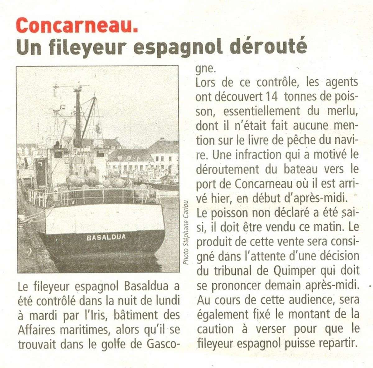 LE PORT DE CONCARNEAU - Volume 003 - Page 20 2750