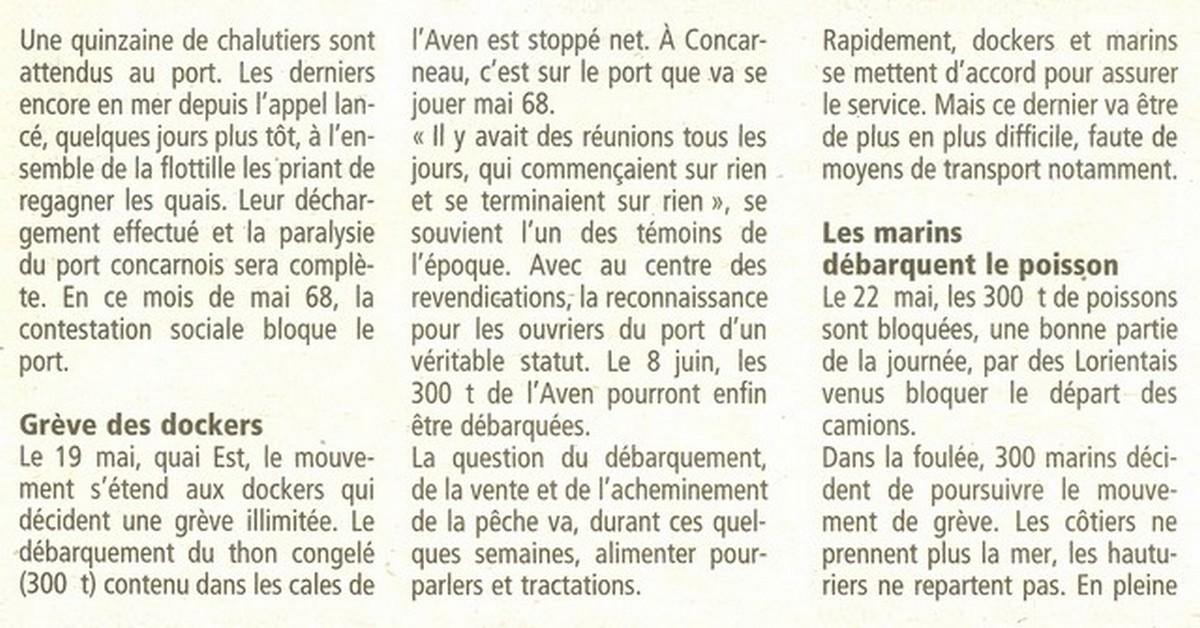 LE PORT DE CONCARNEAU - Volume 003 - Page 2 4437