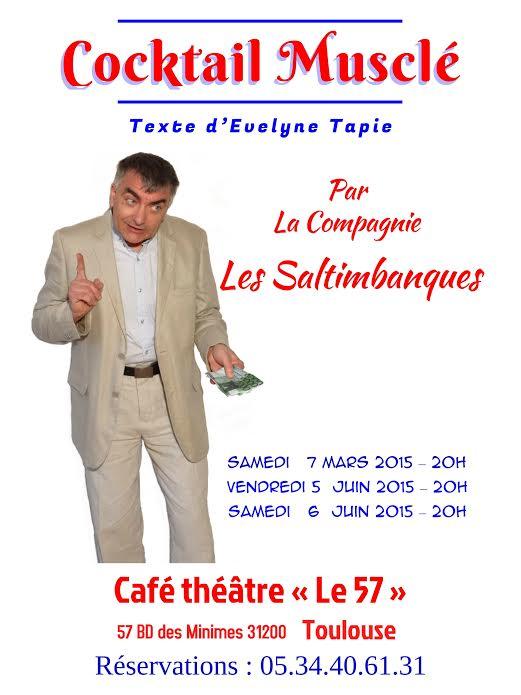 Café Théâtre le 57- Toulouse Affich12