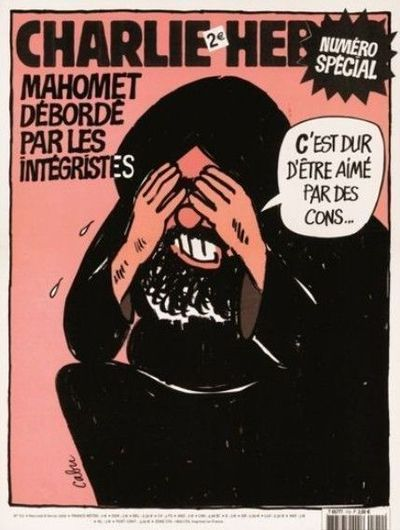Cabu, Wolinski, Charb, Tignous et Honoré... Je suis Charlie Cabu_d10