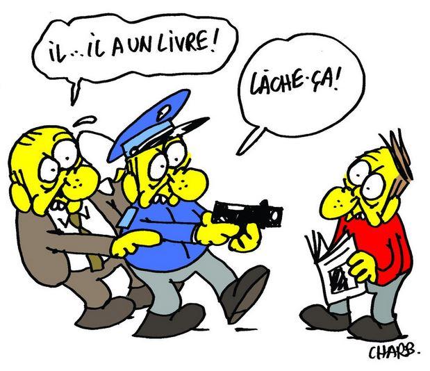 Cabu, Wolinski, Charb, Tignous et Honoré... Je suis Charlie Charb_10