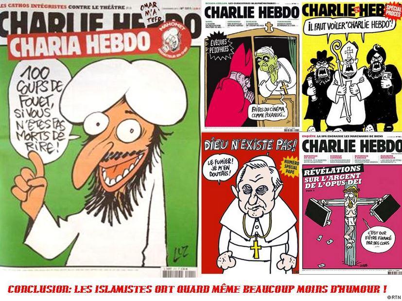 Cabu, Wolinski, Charb, Tignous et Honoré... Je suis Charlie Charli11