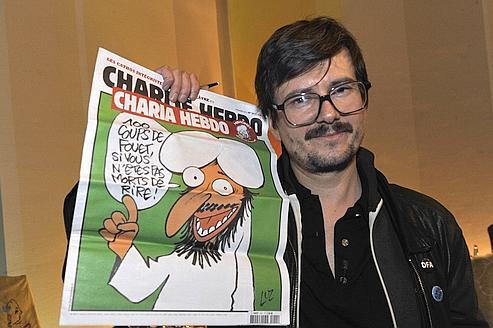 Cabu, Wolinski, Charb, Tignous et Honoré... Je suis Charlie Luz10