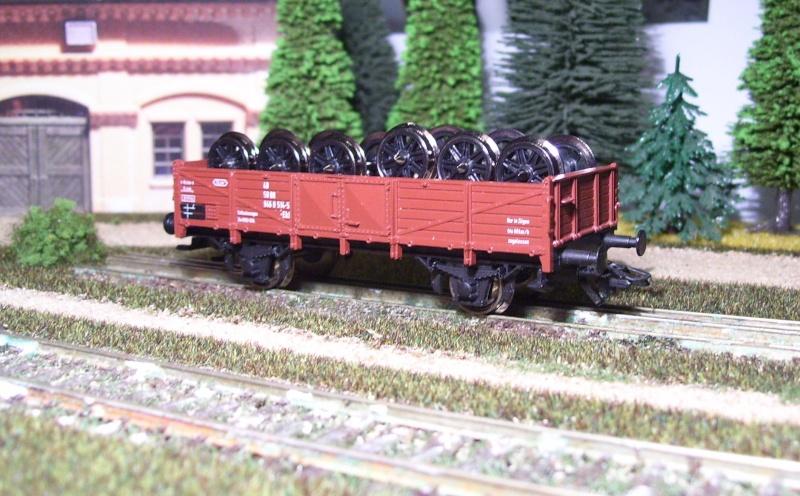 Behelfs-Personenwagen der K. Sächs. Sts. E.B. in HO  die zweite 149-1610