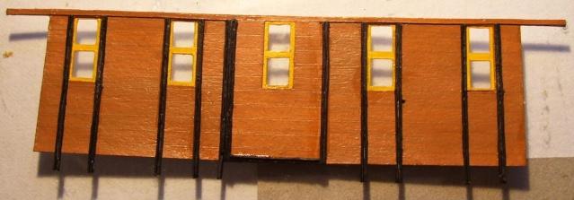 Behelfs-Personenwagen der K. Sächs. Sts. E.B. in HO  die zweite 149-2310