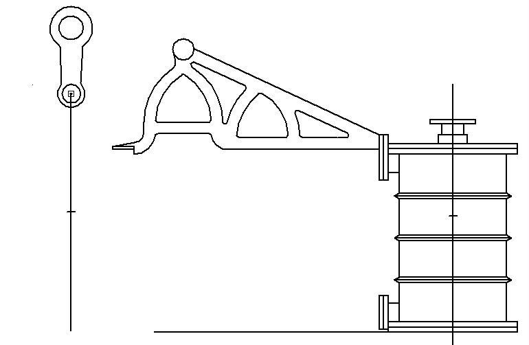 """Dampfmaschine des Dampfbootes """"Königin Maria"""" von 1837 - M1:15 Dkm-0410"""