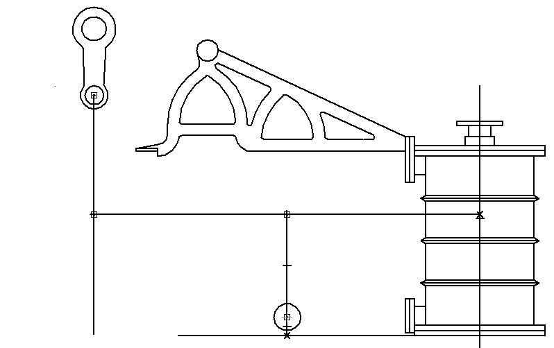 """Dampfmaschine des Dampfbootes """"Königin Maria"""" von 1837 - M1:15 Dkm-0510"""