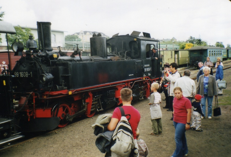 sächsische Schmalspurbahn - 750mm-Schmalspurlokomotiven  Fotos015