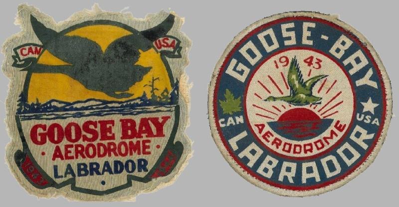 2 RCAF GOOSE BAY patch - 1943 Leopol10