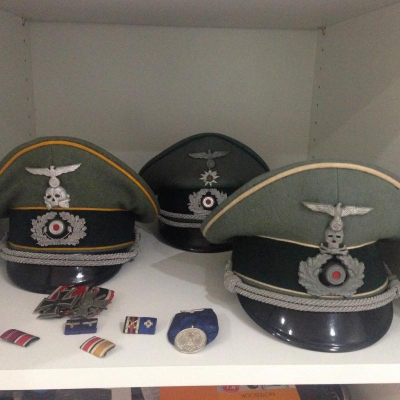 casquette cavalerie avec insigne  Photo11