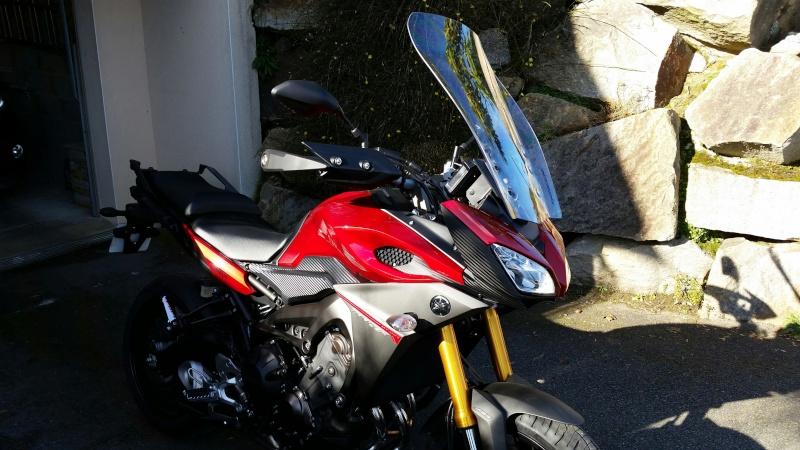Bulle Yamaha pour la MT-09 Tracer 20150215