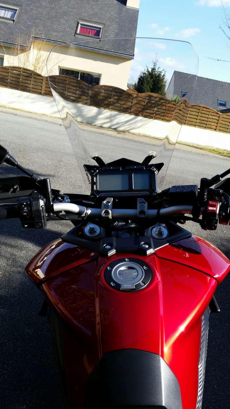 Bulle Yamaha pour la MT-09 Tracer 20150216