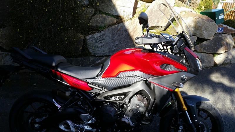 Bulle Yamaha pour la MT-09 Tracer 20150217