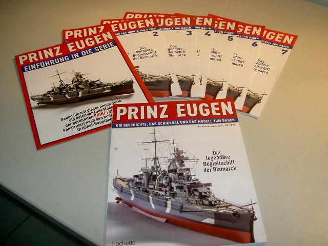 Prinz Eugen 1:200 von Hachette, gebaut von Herbie Bild_022