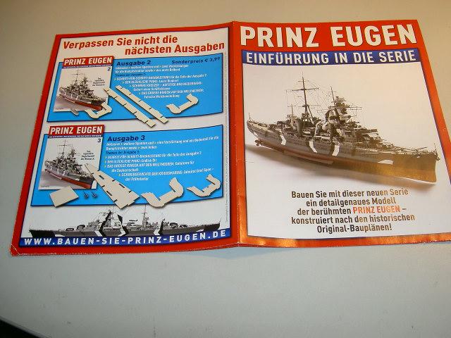 Prinz Eugen 1:200 von Hachette, gebaut von Herbie Bild_023