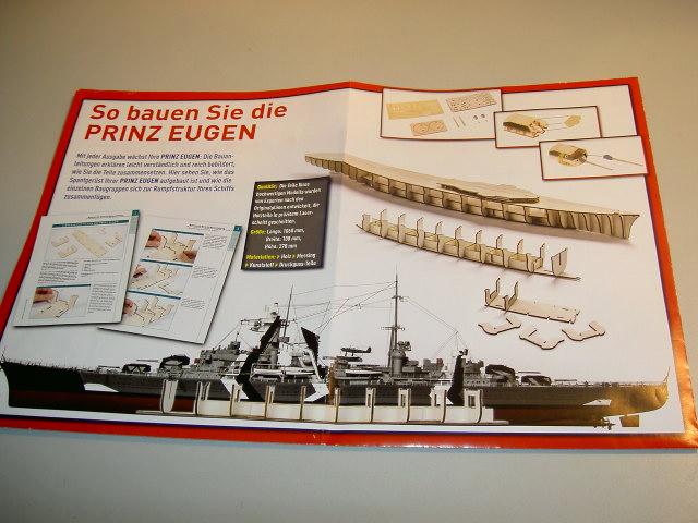 Prinz Eugen 1:200 von Hachette, gebaut von Herbie Bild_024