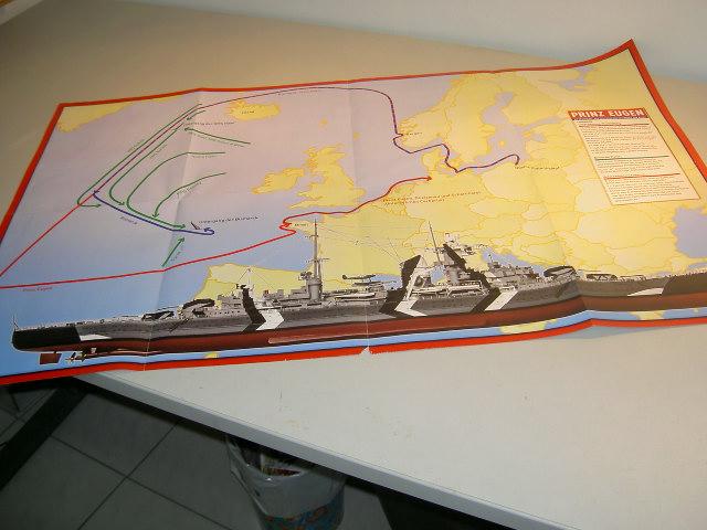 Prinz Eugen 1:200 von Hachette, gebaut von Herbie Bild_025
