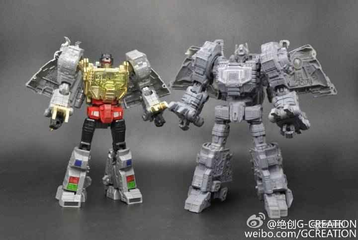 [GCreation] Produit Tiers - Jouet ShuraKing - aka Combiner Dinobots 27502010