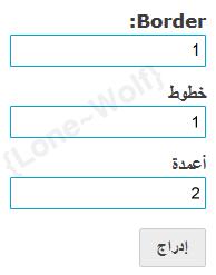 شرح مُفصل للجداول (إطار): إنشاء, تنسيق, تزيين Aseer14