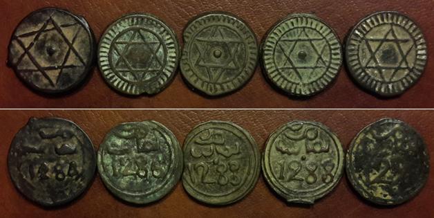 Diverses pièces 4 Falus du Maroc ... Maroca10