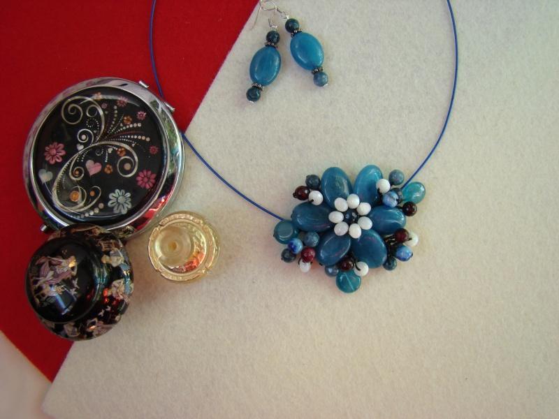 """""""Flori de piatră-Bijoux"""" albumul I-bijuterii artizanale marca Didina Sava - Pagina 12 Colie108"""