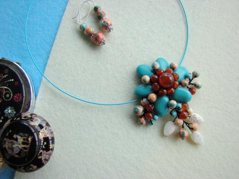 """""""Flori de piatră-Bijoux"""" albumul I-bijuterii artizanale marca Didina Sava - Pagina 12 Colie112"""