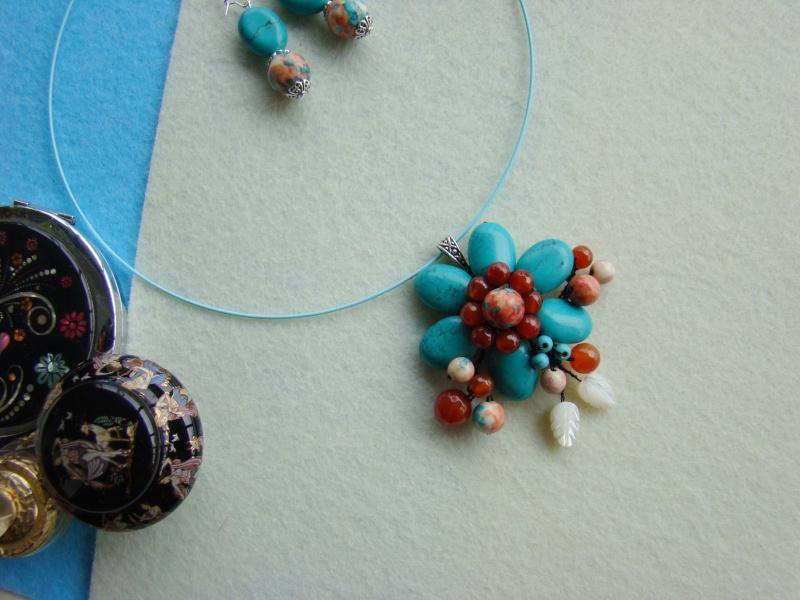 """""""Flori de piatră-Bijoux"""" albumul I-bijuterii artizanale marca Didina Sava - Pagina 12 Colie115"""