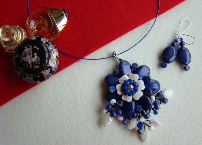 """""""Flori de piatră-Bijoux"""" albumul I-bijuterii artizanale marca Didina Sava - Pagina 12 Colie118"""