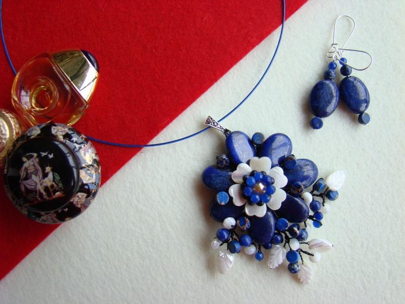 """""""Flori de piatră-Bijoux"""" albumul I-bijuterii artizanale marca Didina Sava - Pagina 12 Colie119"""