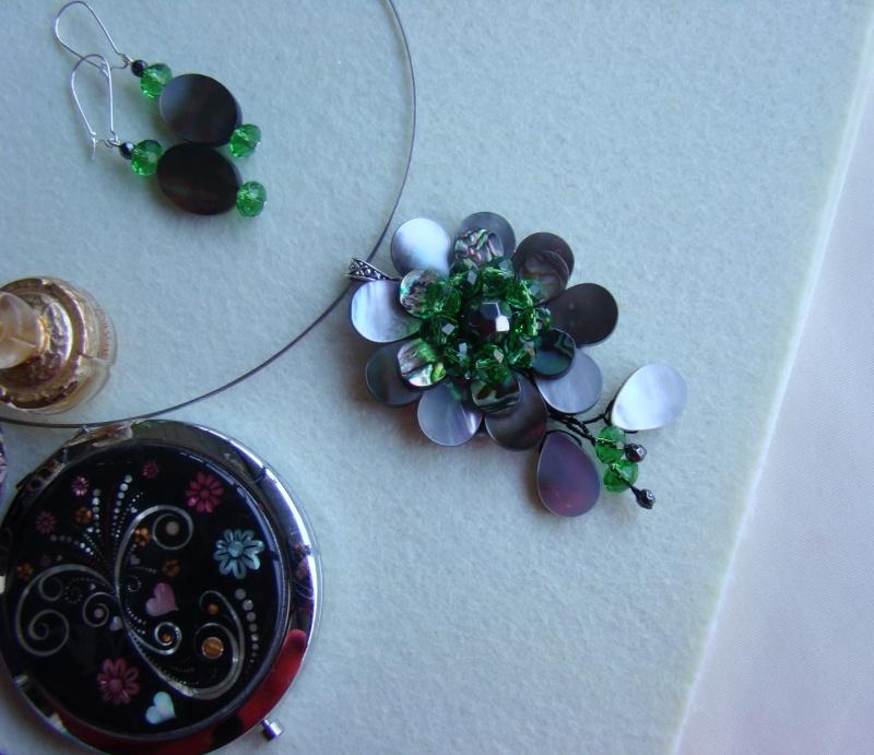 """""""Flori de piatră-Bijoux"""" albumul I-bijuterii artizanale marca Didina Sava - Pagina 12 Colie128"""