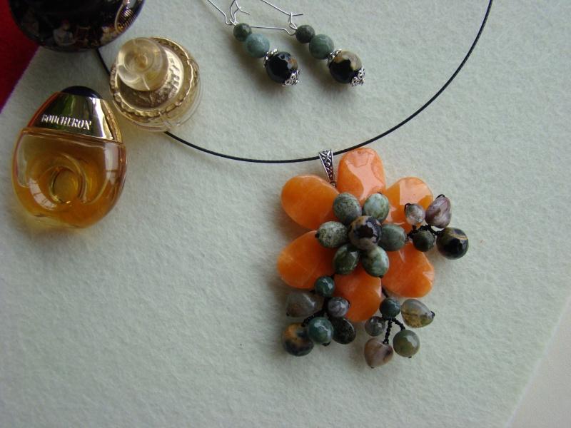 """""""Flori de piatră-Bijoux"""" albumul I-bijuterii artizanale marca Didina Sava - Pagina 12 Colie143"""
