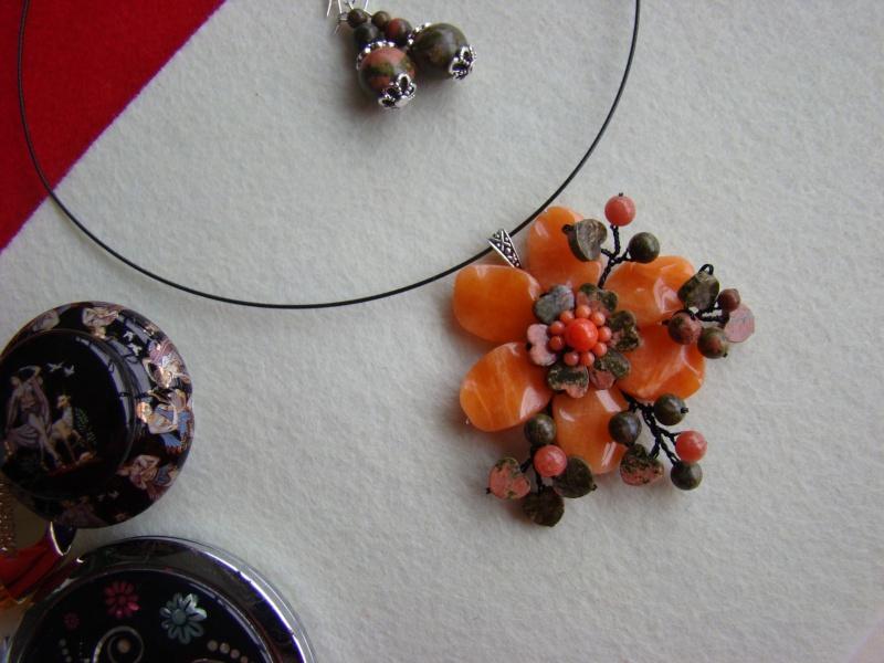 """""""Flori de piatră-Bijoux"""" albumul I-bijuterii artizanale marca Didina Sava - Pagina 12 Colie145"""
