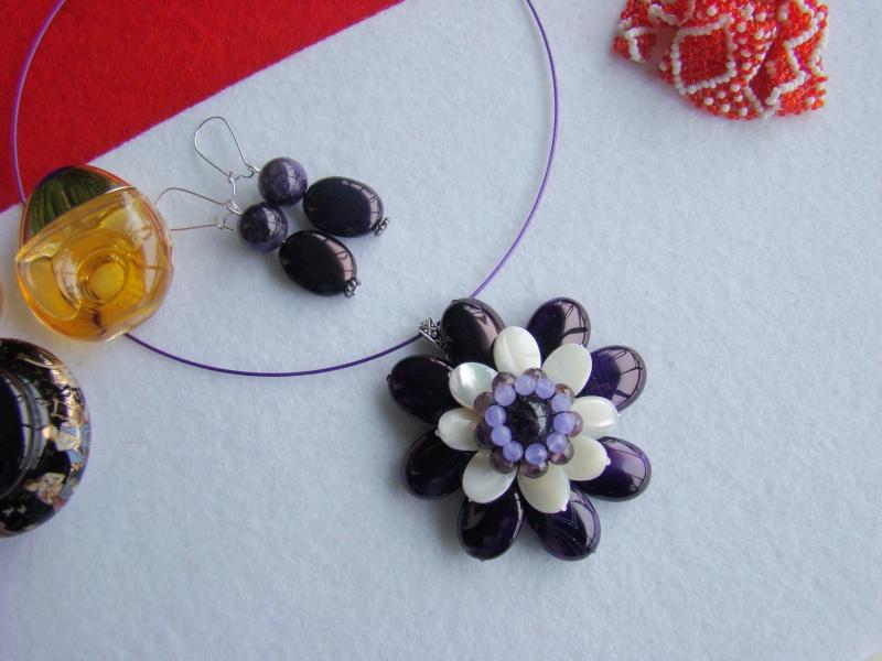 """""""Flori de piatră-Bijoux"""" albumul I-bijuterii artizanale marca Didina Sava - Pagina 12 Colie149"""