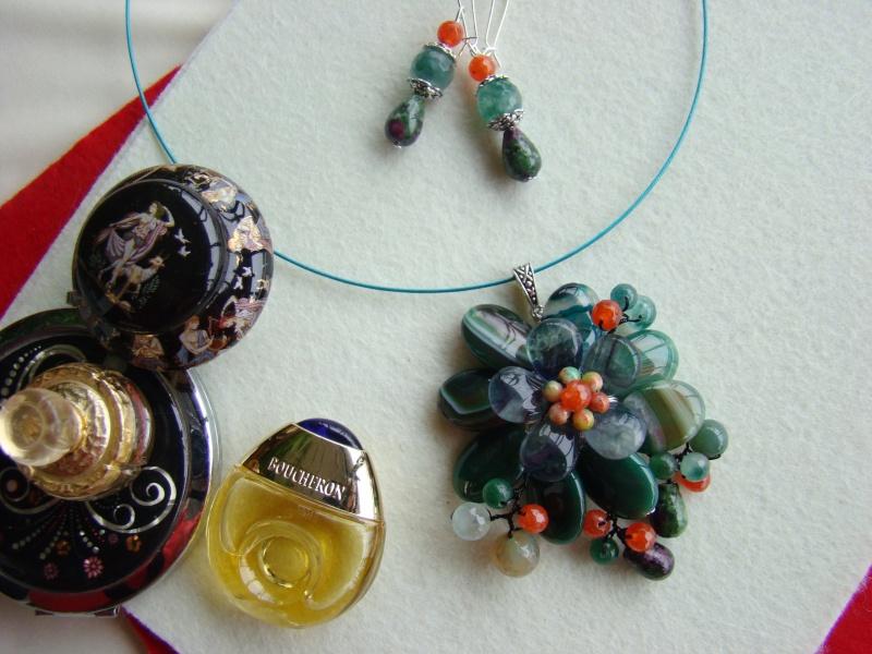 """""""Flori de piatră-Bijoux"""" albumul I-bijuterii artizanale marca Didina Sava - Pagina 12 Colie160"""