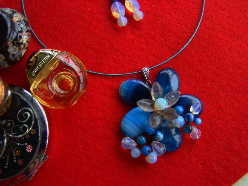 """""""Flori de piatră-Bijoux"""" albumul I-bijuterii artizanale marca Didina Sava - Pagina 12 Colie162"""