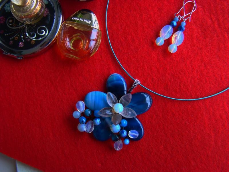 """""""Flori de piatră-Bijoux"""" albumul I-bijuterii artizanale marca Didina Sava - Pagina 12 Colie163"""