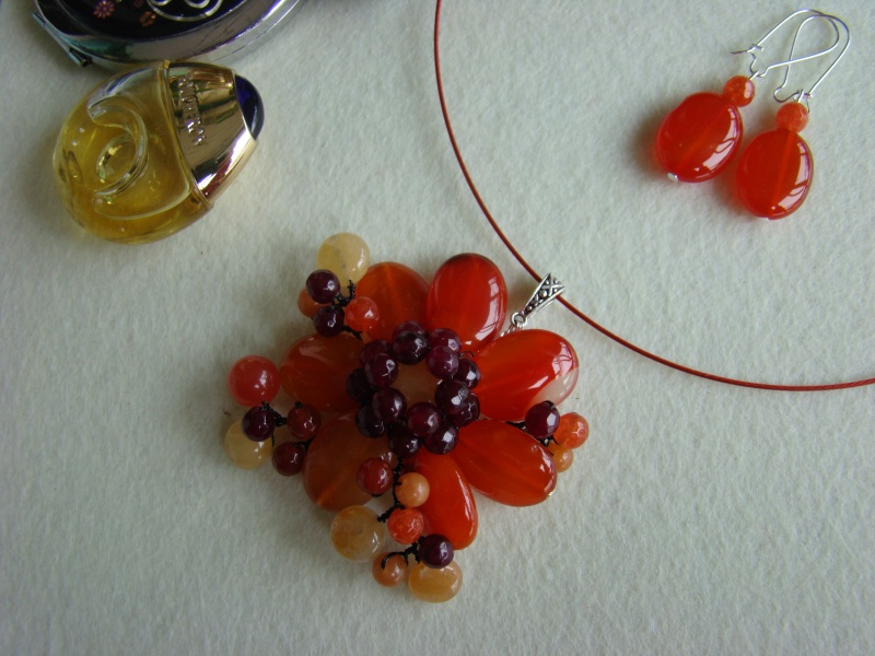 """""""Flori de piatră-Bijoux"""" albumul I-bijuterii artizanale marca Didina Sava - Pagina 12 Colie164"""