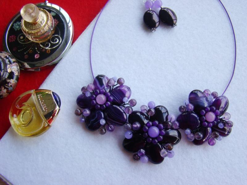 """""""Flori de piatră-Bijoux"""" albumul I-bijuterii artizanale marca Didina Sava - Pagina 12 Colie167"""