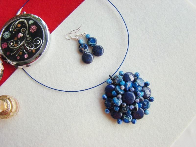 """""""Flori de piatră-Bijoux"""" albumul I-bijuterii artizanale marca Didina Sava - Pagina 13 Colier41"""